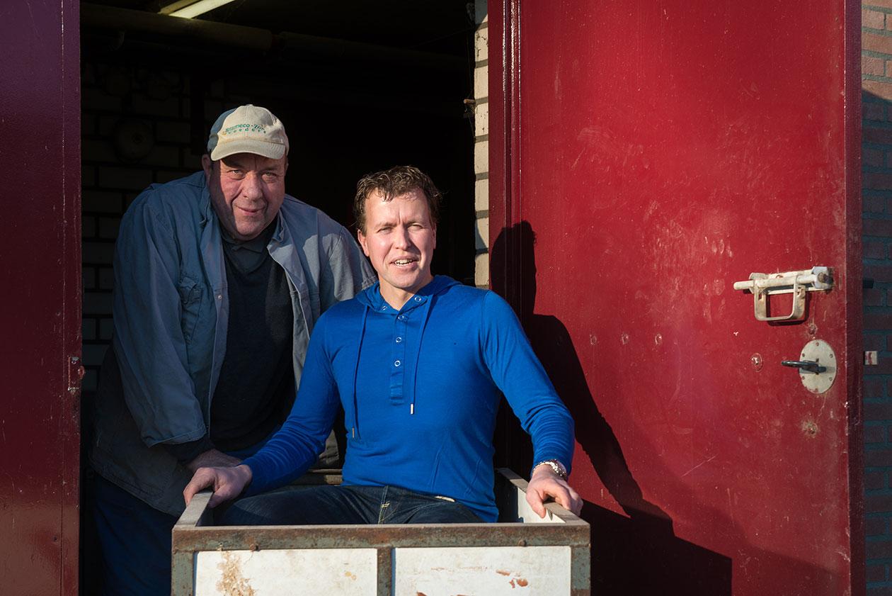 Boeren van Nederweert Chris en Janneke Salimans