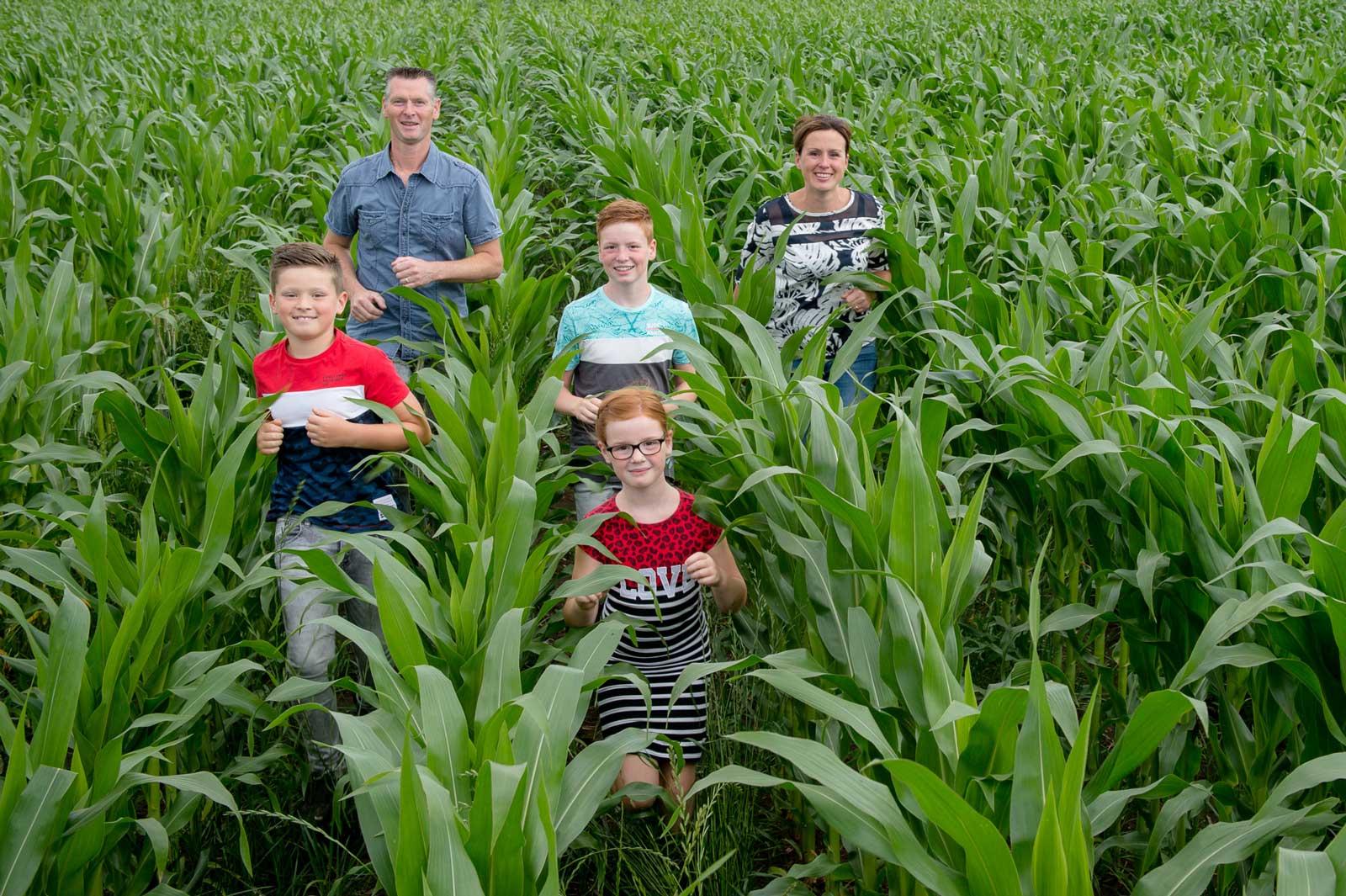 Boeren van Nederweert rundveebedrijf Loijen Johan Horst